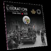 Kanada : 10 Dollar 75 Jahre Befreiung der Niederlande  2020 Stgl.