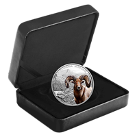 Kanada : 30 Dollar Dickhornschaf - Imposante Ikonen #1 im Einzeletui  2020 PP