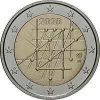 Finnland : 2 Euro Universität von Turku  2020 Stgl.