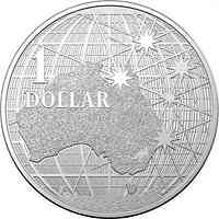 Australien : 1 Dollar Beneath the Southern Skies  1 oz  2020 Stgl.