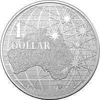 Tuvalu : 1 Dollar Beneath the Southern Skies  1 oz  2020 Stgl.