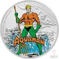 Niue : 2 Dollar Aquaman - Justice League #3  2020 PP