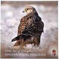 Ungarn : 385 Forint Kurssatz ´Naturserie - Sakerfalke´  2020 Stgl.