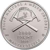 Ungarn : 2000 Forint 150 Jahre Ungarische Feuerwehr  2020 Stgl.