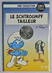 Frankreich : 10 Euro Schneider 9/20  2020 Stgl.