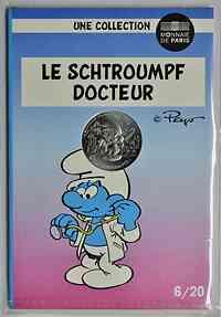Frankreich : 10 Euro Doktor 6/20  2020 Stgl.