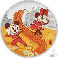 Niue : 2 Dollar Disney - Jahr der Maus ´Prosperity´ 1 oz  2020 PP