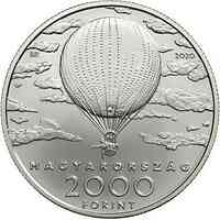 Ungarn : 2000 Forint 32. 175. Geburtstag Pal Szinyei Merse 2020 Stgl.