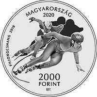 Ungarn : 2000 Forint 125 J. Ungarisches Olympisches Komitee 2020 Stgl.