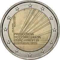 2 Euro Gedenkmünze 2021 / 2 Euro Sondermünze 2021 Portugal EU-Präsidentschaft