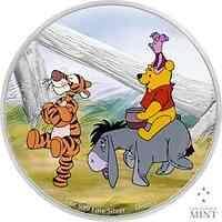 Niue : 2 Dollar Disney/Winnie the Pooh + Freunde #4  2021 PP