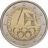 Portugal : 2 Euro Teilnahme an den Olympischen Spielen in Tokio  2021 bfr