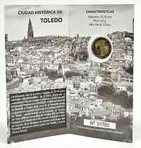 2 Euro Gedenkmünze 2021 / 2 Euro Sondermünze 2021 Spanien Altstadt von Toledo