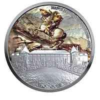 Niue : 10 Dollar 200. Todestag von Napoleon Bonaparte  - coloriert  2021 P/L