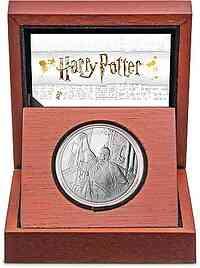 Niue : 2 Dollar Lord Voldemort - Harry Potter Classics 1 oz  2021 PP