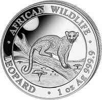 Somalia : 100 Schilling Leopard 2021 Stgl.