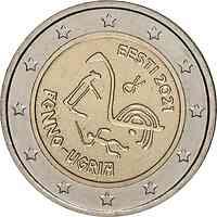 Estland : 2 Euro Finno-Ugurische Völker  2021 Stgl.