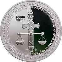 Ungarn : 10000 Forint 150 Jahre Staatsanwaltschaft Si PP  2021 PP