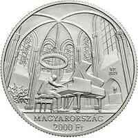 Ungarn : 2000 Forint György Cziffra - Pianist 2021 Stgl.