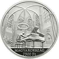 Ungarn : 7500 Forint György Cziffra - Pianist 2021 PP