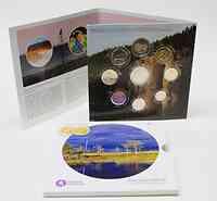 Finnland : 5,88 Euro original Kursmünzensatz II der finnischen Münze inkl. 2 Euro Gedenkmünze  2010 Stgl. KMS Biodiversity