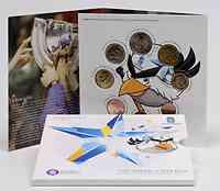 Finnland : 3,88 Euro original Kursmünzensatz der finnischen Münze - Eishockey WM IIHF  2012 Stgl. KMS Finnland 2012 Eishockey