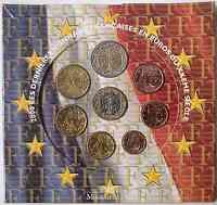 Frankreich : 3,88 Euro original Kursmünzensatz der französischen Münze 2000 Stgl.