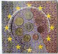 Frankreich : 3,88 Euro original Kursmünzensatz der französischen Münze  2001 Stgl. KMS Frankreich 2001
