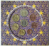 Frankreich : 3,88 Euro original Kursmünzensatz der französischen Münze  2002 Stgl. KMS Frankreich 2002