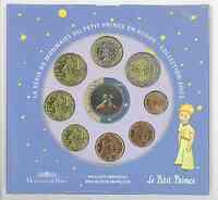 Frankreich : 3,88 Euro Themensatz -kleiner Prinz-  2003 bfr KMS Frankreich 2003;kleiner Prinz
