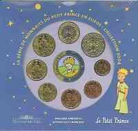 Frankreich : 3,88 Euro Themensatz -kleiner Prinz-  2004 bfr KMS Frankreich 2004;kleiner Prinz
