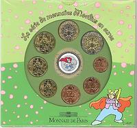 Frankreich : 3,88 Euro Themensatz - Moebius -  2005 bfr KMS Frankreich 2005;Moebius