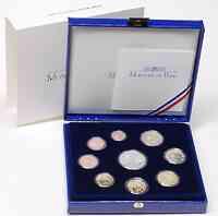 Frankreich : 18,88 Euro original Kursmünzensatz der französischen Münze  2008 PP KMS Frankreich 2008 PP