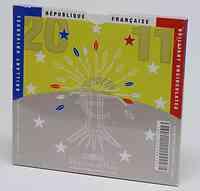 Frankreich : 3,88 Euro original Kursmünzensatz der französischen Münze  2011 Stgl. KMS Frankreich 2011 BU