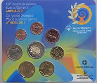 Griechenland 3,88 Euro KMS 2011 Special Olympics