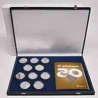 Spanien : 10 Euro Iberoamerikanische Serie 9 - Set aus 8 Münzen und 2 Medaillen  2012 PP
