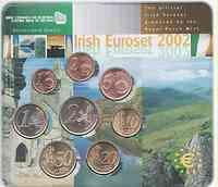 Irland : 3,88 Euro Kursmünzensatz aus Irland - Ausgabe der NL-Münze 2002 Stgl.