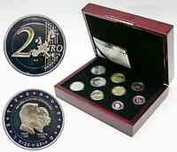 Luxemburg : 5,88 Euro original Kursm�nzensatz aus Luxemburg in Originalkassette, mit 2 Euro Gedenkm�nze  2005 PP KMS Luxemburg 2005 PP;Luxemburg 2005 PP