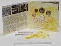 Luxemburg : 5,88 Euro original Kursm�nzensatz aus Luxemburg mit zus�tzlicher 2 Euro Gedenkm�nze Wappen des Grossherzogs Henri  2010 Stgl. KMS Luxemburg 2010