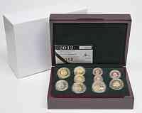 Luxemburg : 7,88 Euro KMS Luxemburg inkl. 2 Euro Gedenkmünzen Guillaume und Euro Bargeld  2012 PP