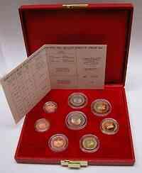 Monaco : 3,88 Euro original Kursmünzensatz aus Monaco  2001 PP KMS Monaco 2001 PP