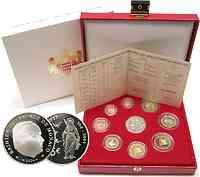 Monaco : 8,88 Euro originaler Kursmünzensatz aus Monaco + 5 Euro Gedenkmünze im Originaletui  2004 PP KMS Monaco 2004 PP