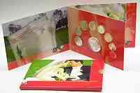 Niederlande : 3,88 Euro original KMS Hochzeit Niederlande + Medaille  2005 bfr