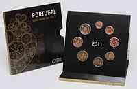 Portugal 3,88 Euro original Kursmünzensatz aus Portugal 2011 Stgl.