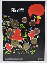 Portugal : 3,88 Euro KMS Portugal FDC  2013 vz/Stgl.