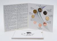 Slowenien : 3,88 Euro original Kursmünzensatz der slowenischen Münze  2007 Stgl. Euro Slowenien; Euro KMS Slowenien 2007