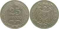 Deutschland : 25 Pfennig   1910 ss/vz.