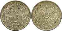 Deutschland : 1/2 Mark 1912 ss/vz.