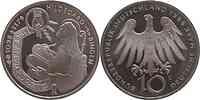 Deutschland : 10 DM Hildegard v. Bingen 1998 vz/Stgl.