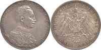 Deutschland : 3 Mark Wilhelm II.  1913 vz/Stgl.
